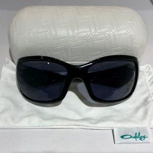 Oakley Ravishing Black Polarized Sunglasses Shades